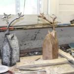 Grow in brons wordt afgewerkt zoals het origineel